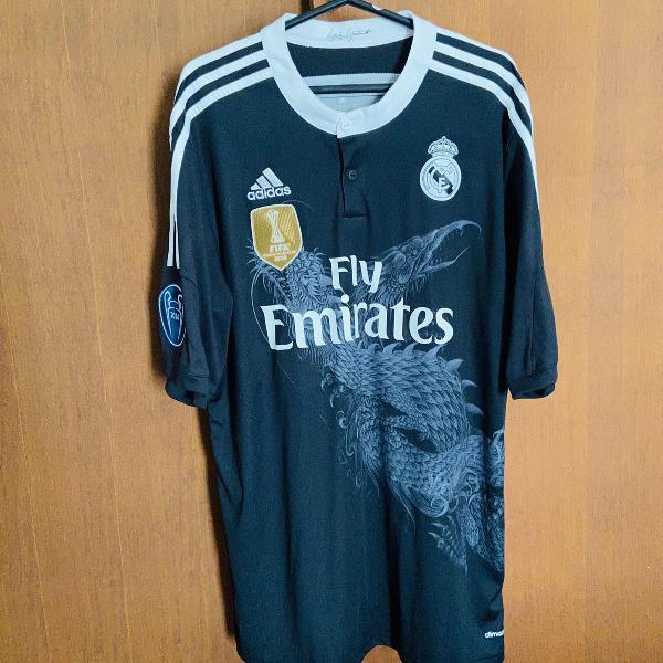 Camisa real madrid 4