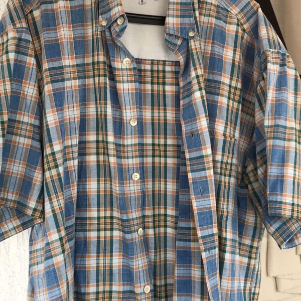Camisa xadrez levis