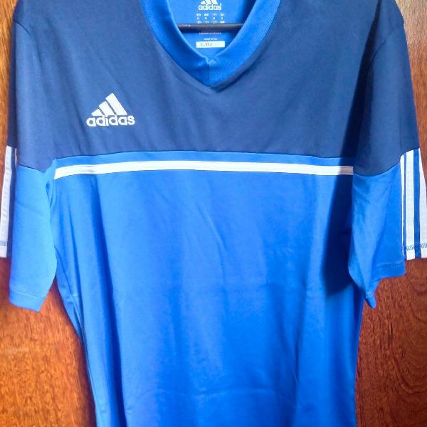 Camiseta adidas climalite azul