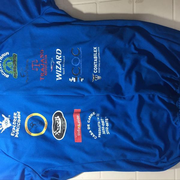 Camiseta térmica para ciclismo/corrida