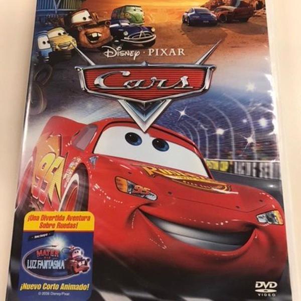 Cars em espanhol - filme infantil disney/pixar - original,
