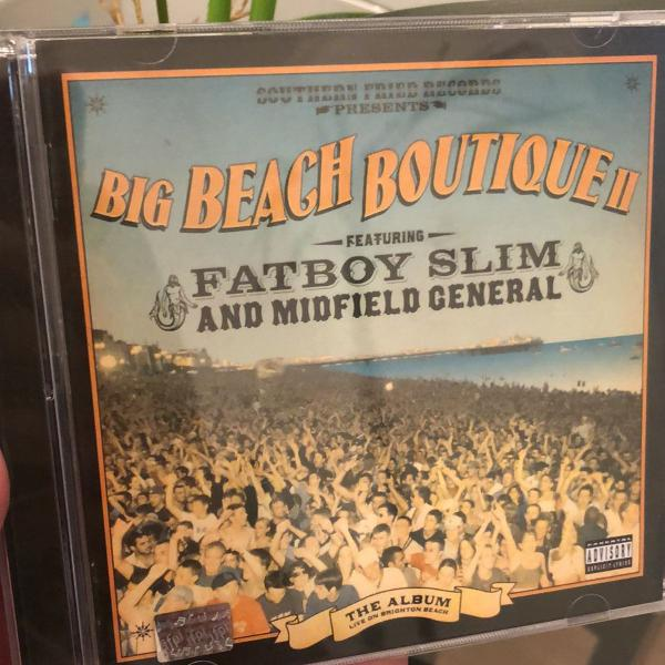 Cd fatboy slim big beach boutique
