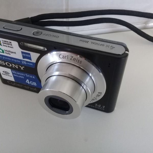 Câmera digital sony cyber shot dsc-w320 14.1 mega pixels