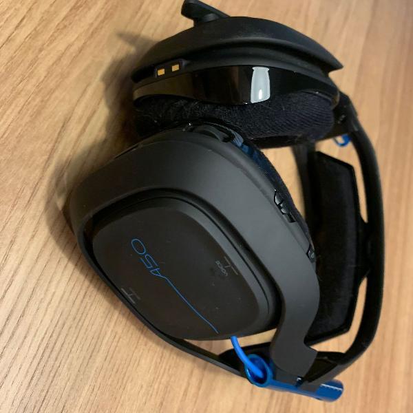 Headset sem fio gamer astro a50 com base