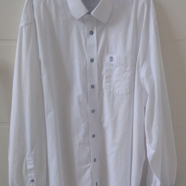 Individual - camisa individual -camisa branca xgg