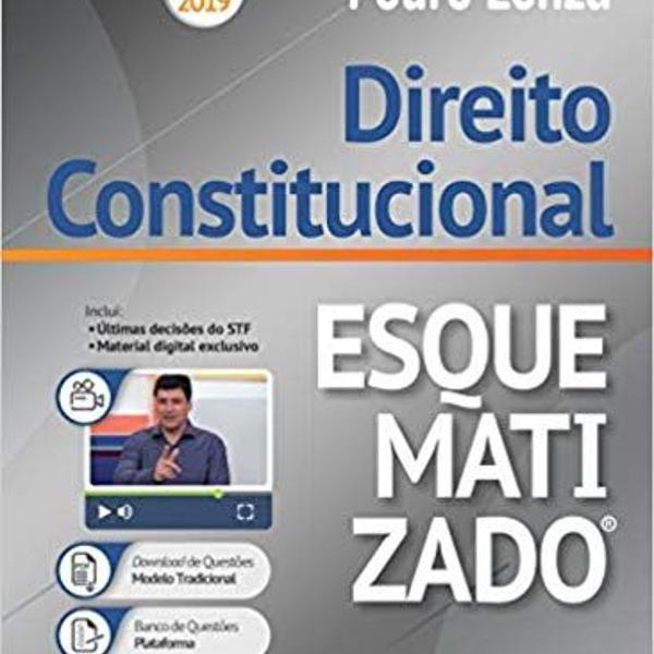 Livro direito constitucional pedro lenza