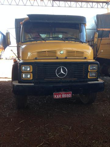 Mercedes 1317 truck caçamba, venda em jataí