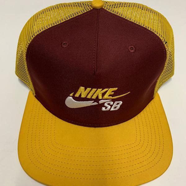 Nike sb ocre com marrom