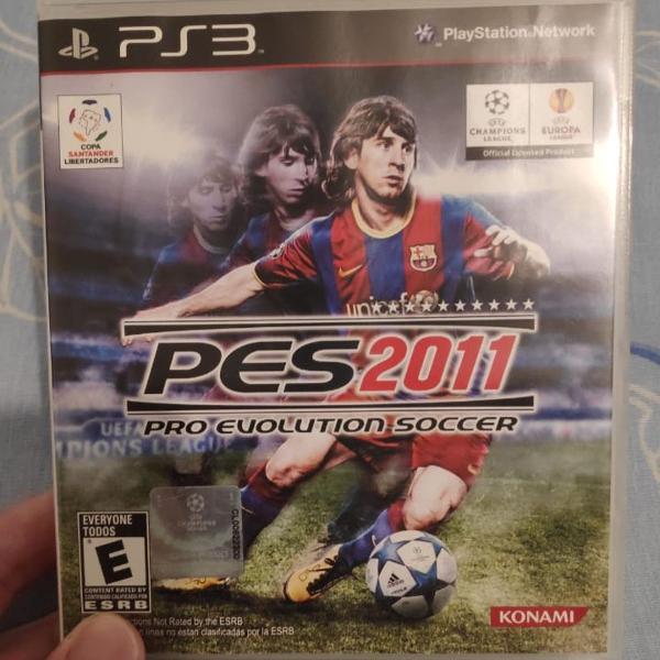 Pes 2011 original ps3 evolution soccer