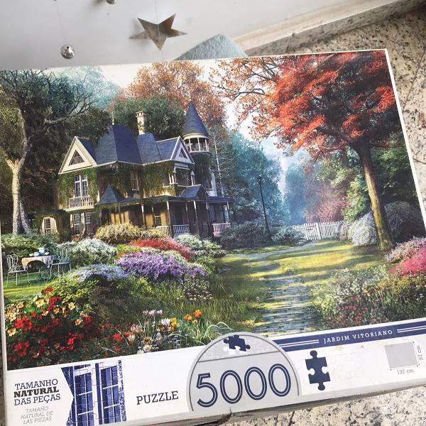 Puzzle 5000 peças