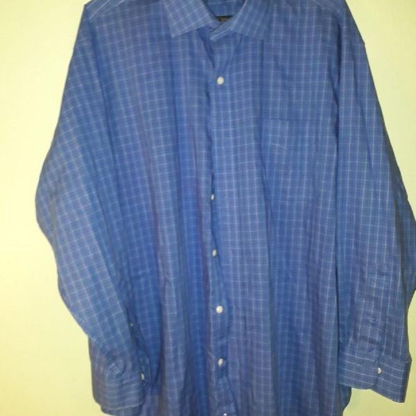 Ralph lauren, camisa azul royal