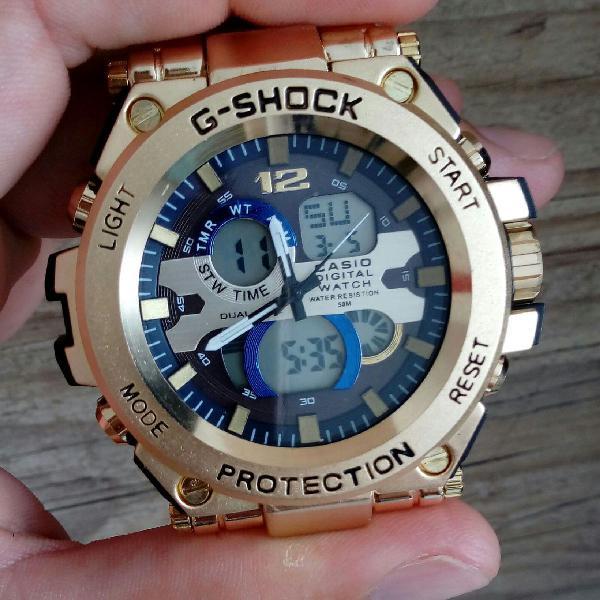 Relógio aço g shock