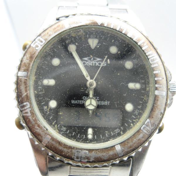 Relógio cosmos usado mas bem conservado