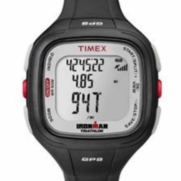Relógio timex easy trainer gps masculino ref: t5k754ra/ti