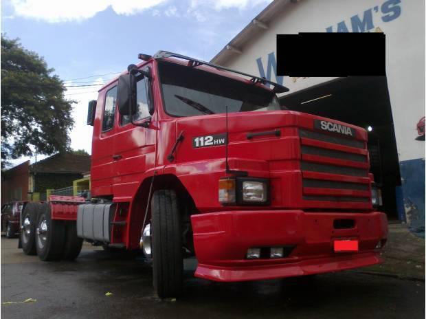 Scania 112 360 hw, trucado avista.ou troca por scania 124
