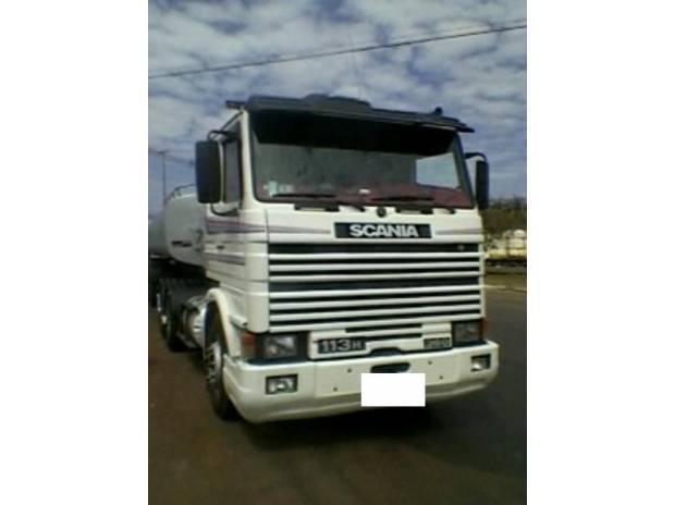 Scania 113 360 frontal pneu 292 6 marcha