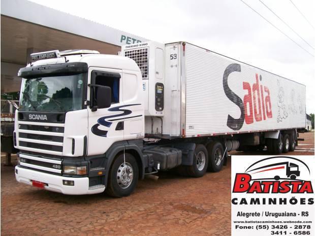 Scania r 124 420 2001, niju 1999 28 pallets