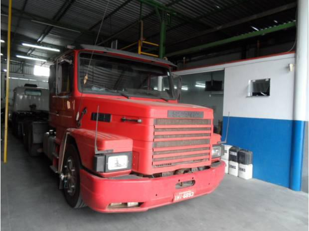 Scania t 142 h truck ano 1988 motor 113 360 ecologico