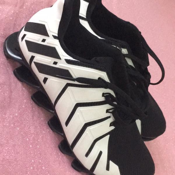 Tênis adidas original springblade pro masculino - branco e