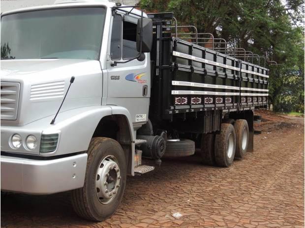 Vendo caminhão mercedes benz 1620 truck santa rosa - rs