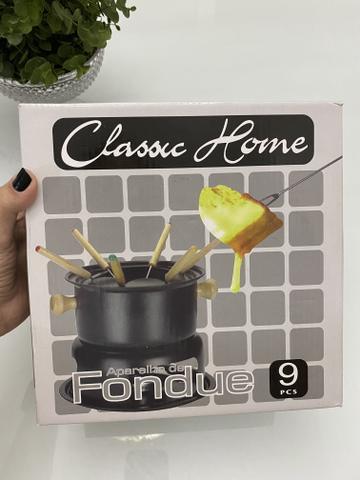 Aparelho para fondue, novo.