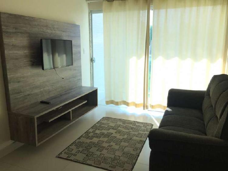 Apartamento 02 quartos com suíte mobiliado - riviera