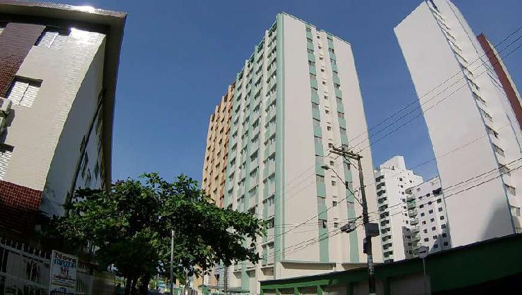 Apartamento 2 dormitórios vista mar tupi praia grande.