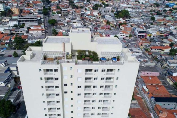 Apartamento 60 m², 2 dormitórios, km 18 - Osasco - SP
