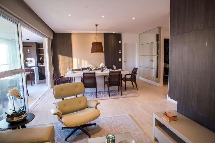 Apartamento com 3 dormitórios varanda gourmet à venda,