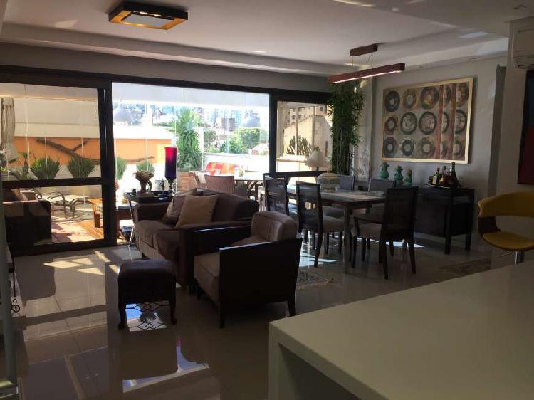 Apartamento garden, mobiliado com 151 metros quadrados com 2