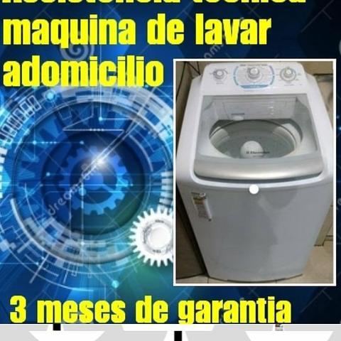 Assistência maquina de lavar adomicilio