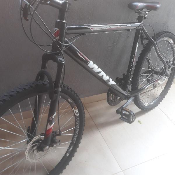 Bicicleta aro 26 usada kit shimano