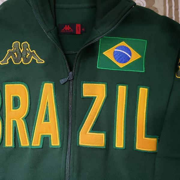 Blusa moletom college kappa brasil