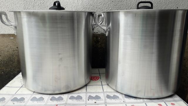 Caldeirão de alumínio 20 litros