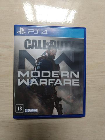 Call of duty modern warfare novo playstation 4