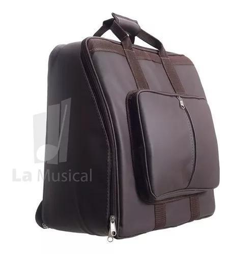 Capa bag acordeon,gaita,sanfona 120 baixos com pelúcia
