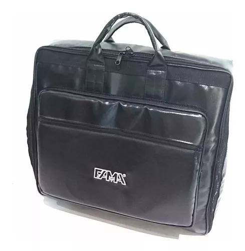 Capa bag acordeon,gaita,sanfona 120 baixos couro sintético