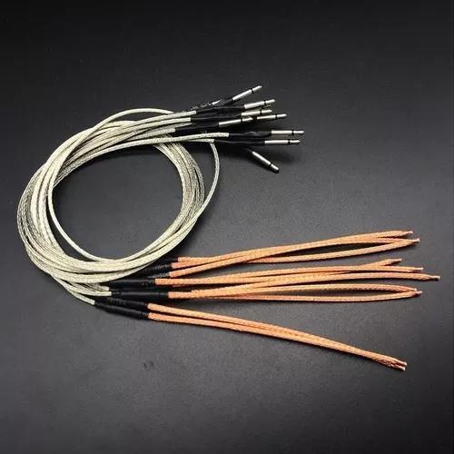 Captador piezo eletrico flexível violão aço nylon -