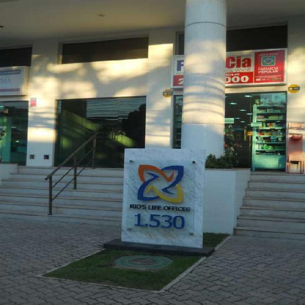Centro empresarial Rio's Life. Área nobre Excelente
