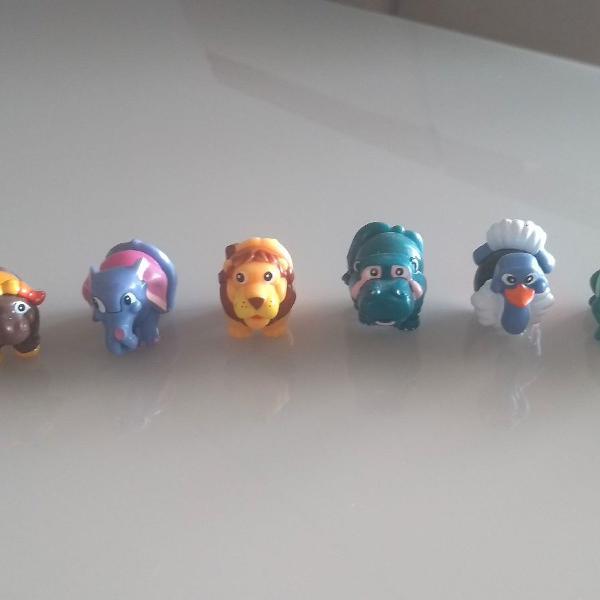 Coleção de mini animais kinder ovo - ano 1993