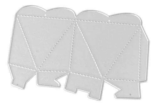 Corte de metal morre de gravação cartão de papel