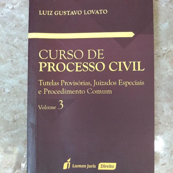 Curso de processo civil, volume 3