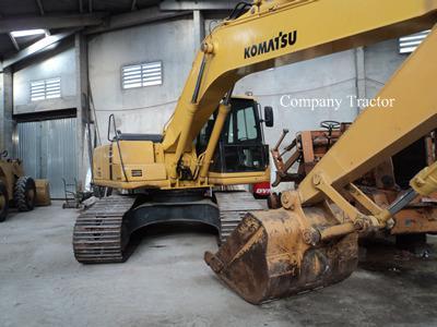 Escavadeira komatsu pc200 ano 2005