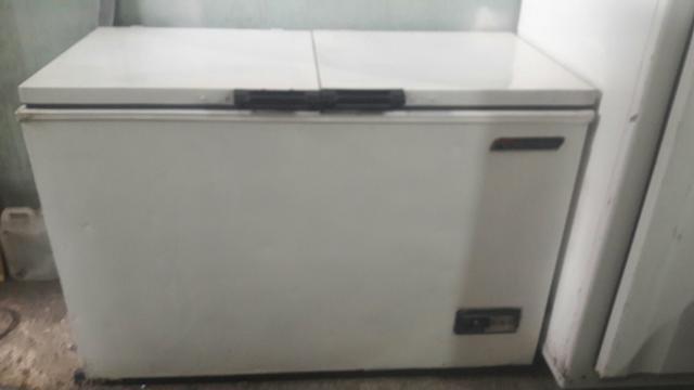 Freezer horizontal para carne e bebida