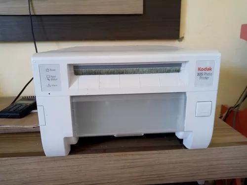Impressora kodak 305 revela fotos 10x15 até 15x21