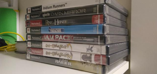 Jogos originais e lacrados para playstation 2