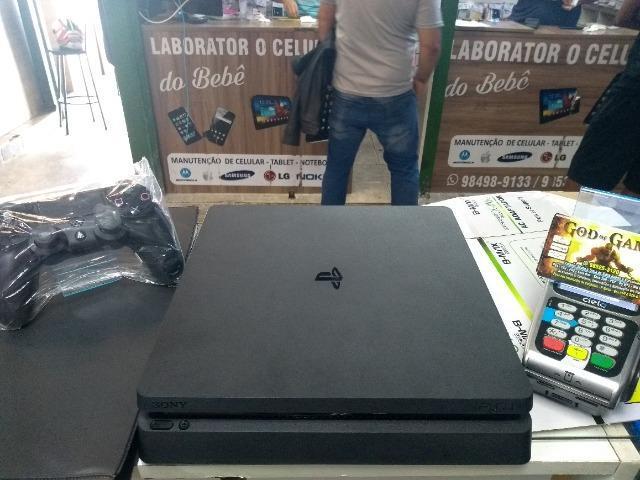 Ps4 playstation 4 sony 1tb novo jet black último modelo