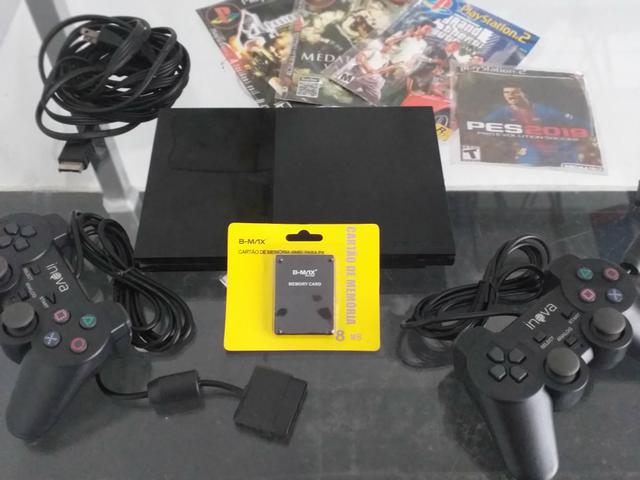 Playstation 2 semi novo