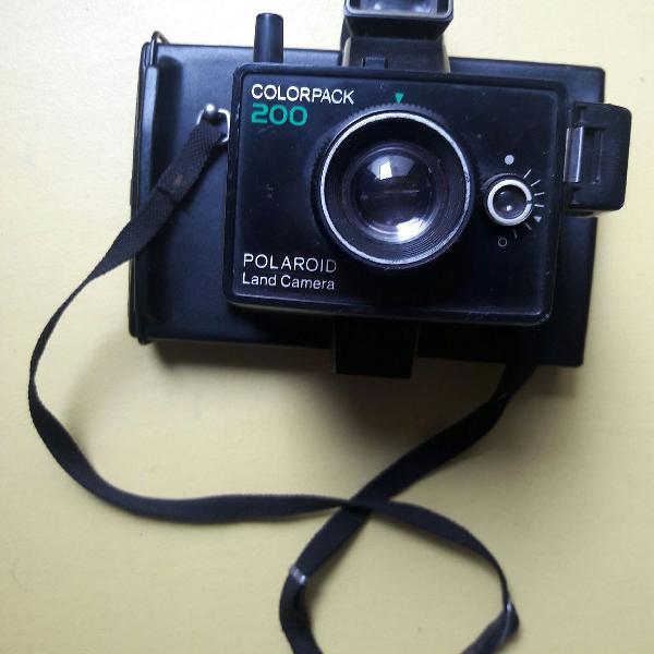 Polaroid 200 colorpack antiga