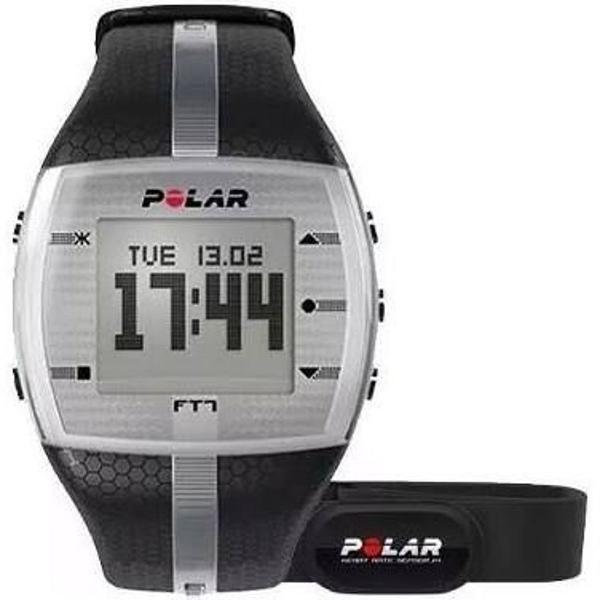 Relógio monitor cardiaco polar ft4 cinza + cinta